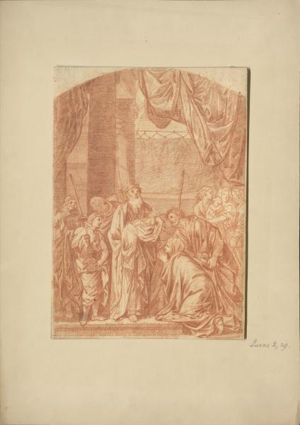 Darbringung des Christuskindes im Tempel (Lukas 2,29)