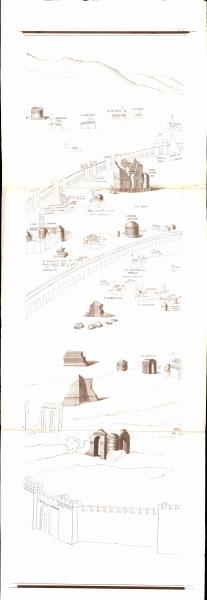 Siebenteilige Karte von Rom - Tav. VII