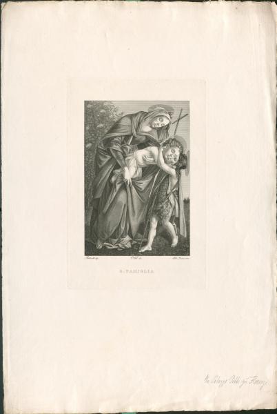 Madonna mit Jesuskind und dem jungen Täufer Johannes