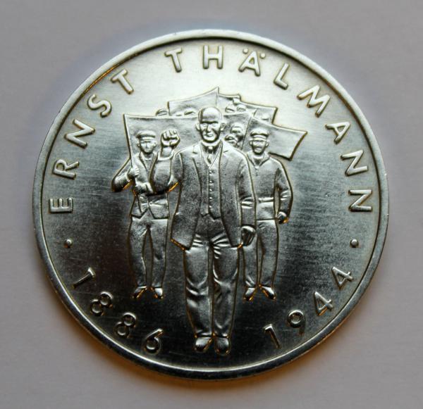 10-Mark-Stück zum 100. Geburtstag Ernst Thälmanns