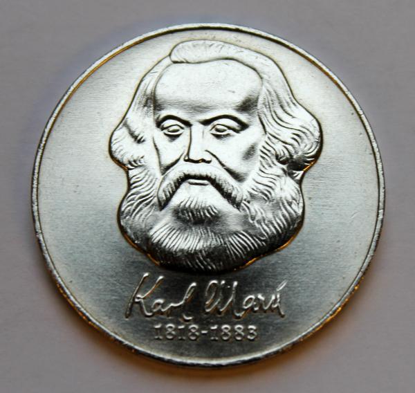 20-Mark-Stück zum 100. Todestag von Karl Marx (Karl-Marx-Jahr)