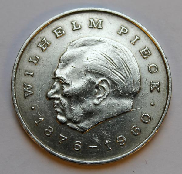 20-Mark-Stück zu Ehren Wilhelm Piecks