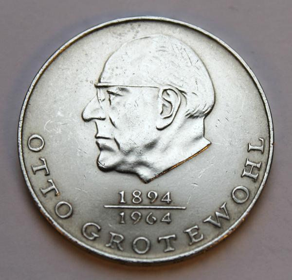 20-Mark-Stück Otto Grotewohl