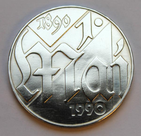 10-Mark-Stück auf 100 Jahre 1. Mai