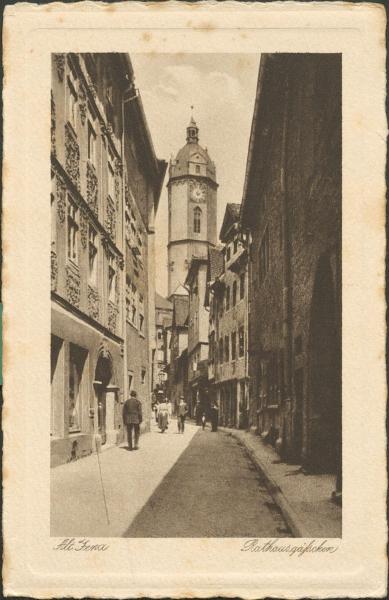 Alt Jena - Rathausgäßchen