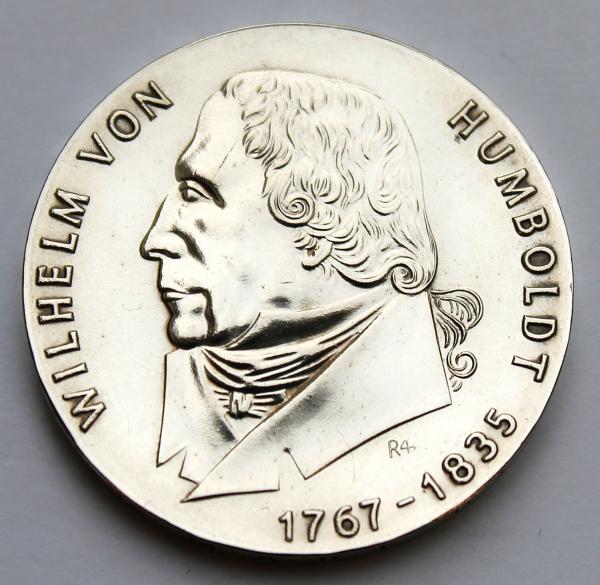 20-Mark-Stück zum 200. Geburtstag von Wilhelm von Humboldt
