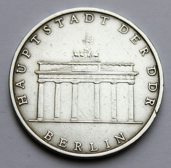 5-Mark-Stück Brandenburger Tor