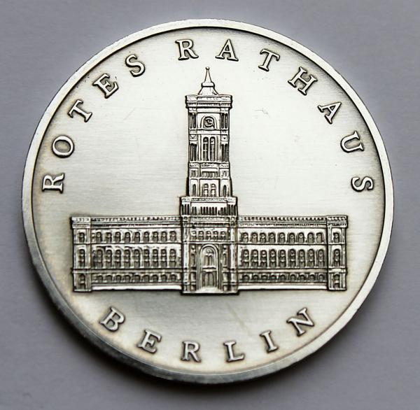 5-Mark-Stück 750 Jahre Rotes Rathaus Berlin