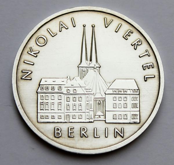 5-Mark-Stück 750 Jahre Berlin: Nikolaiviertel