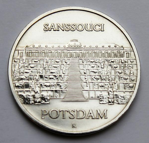 5-Mark-Stück Schloss Sanssouci Potsdam