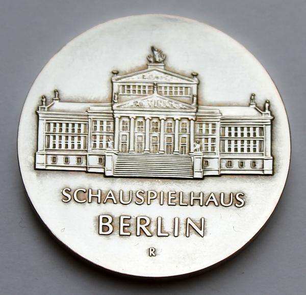 10-Mark-Stück auf 750 Jahre Schauspielhaus Berlin