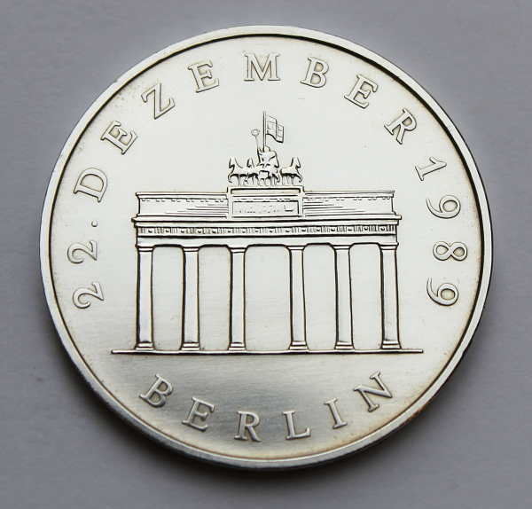 20-Mark-Stück Öffnung des Brandenburger Tors