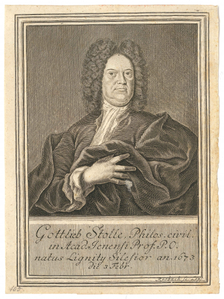 Porträt Prof. Gottlieb Stolle