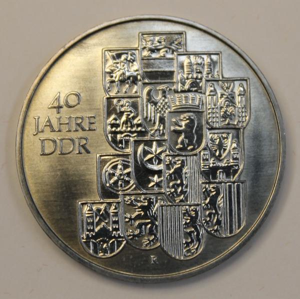 10-Mark-Stück 40 Jahre DDR