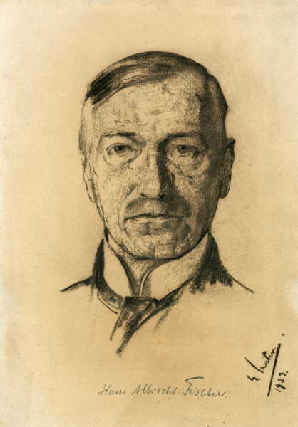 Porträt Hans Albrecht Fischer