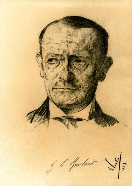 Porträt Heinrich Gerland