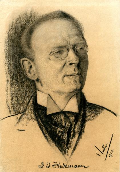 Porträt Justus W. Hedemann