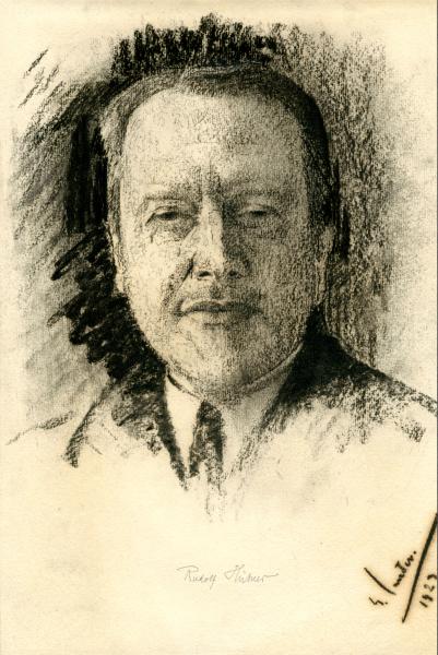 Porträt Rudolf Hübner