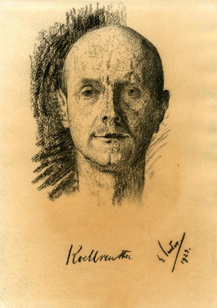 Porträt Otto Koellreutter
