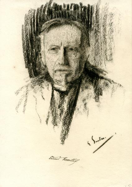 Porträt Eduard Rosenthal