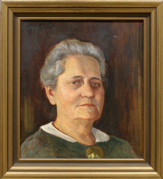 Porträt Gertrud Ruß