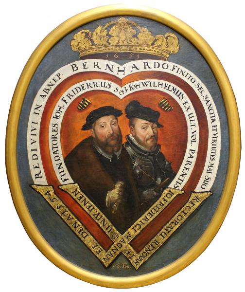 Doppelbildnis Johann Friedrich II. / Johann Wilhelm