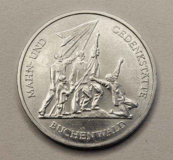 10-Mark-Stück Mahn- und Gedenkstätte Buchenwald