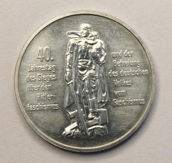 10-Mark-Stück 40 Jahre Befreiung vom Faschismus