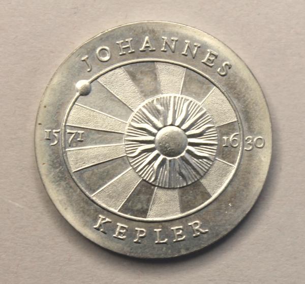 5-Mark-Stück zum 400. Geburtstag von Johannes Kepler
