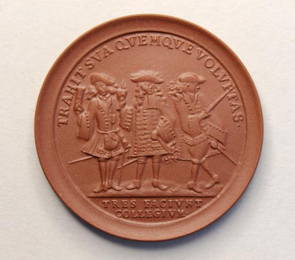 Studenten-Medaille von 1699 (Nachprägung)