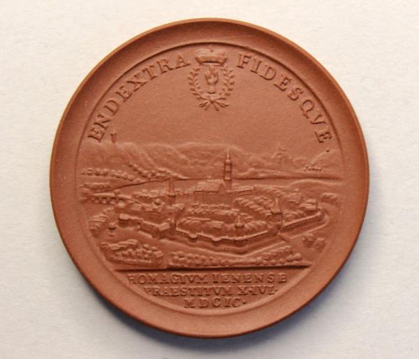 Jenaer Schaumünze von 1699