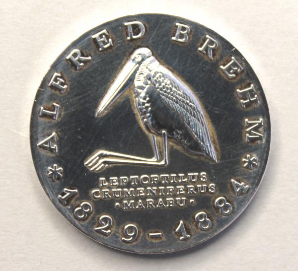 10-Mark-Stück zum 100. Todestag Alfred Brehms