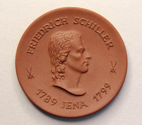 Gedenkmedaille zur Fertigstellung des Universitätshochhauses der Friedrich-Schiller-Universität Jena