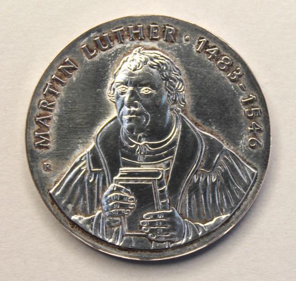 20-Mark-Stück zum 500. Geburtstag von Martin Luther