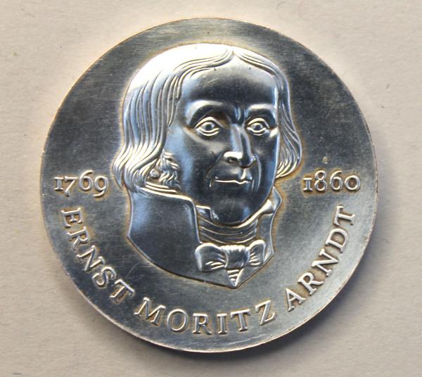 20-Mark-Stück zum 125. Todestag Ernst Moritz Arndts