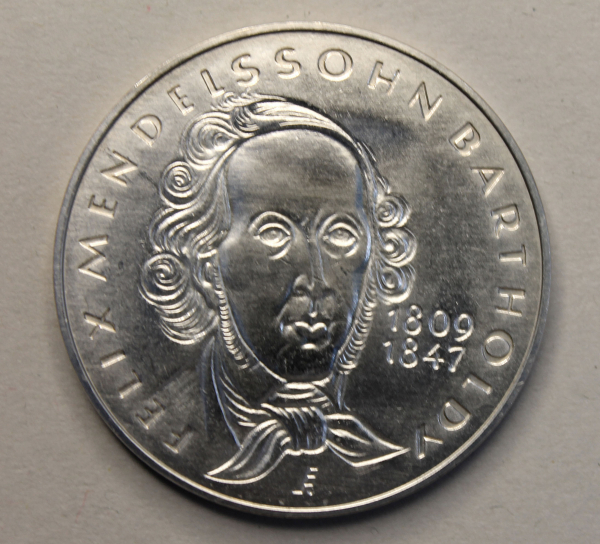 Medaille auf Felix Mendelsson-Bartholdy