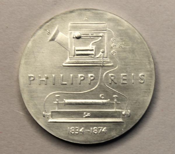 5-Mark-Stück zum 100. Todestag von Philipp Reis
