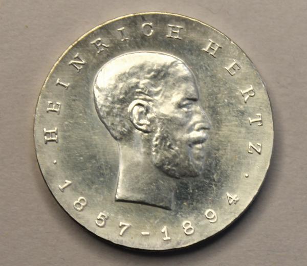 5-Mark-Stück zum 75. Todestag von Heinrich Hertz