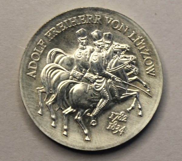 5-Mark-Stück zum 150. Todestag von Adolf Freiherr von Lützow