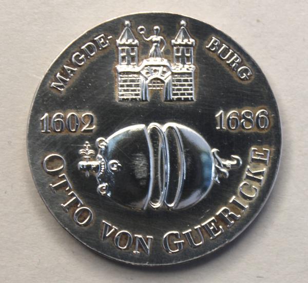 10-Mark-Stück zum 375. Geburtstags von Otto von Guericke