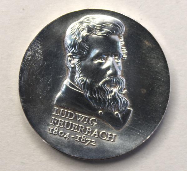 10-Mark-Stück anlässlich des 175. Geburtstages von Ludwig Feuerbach