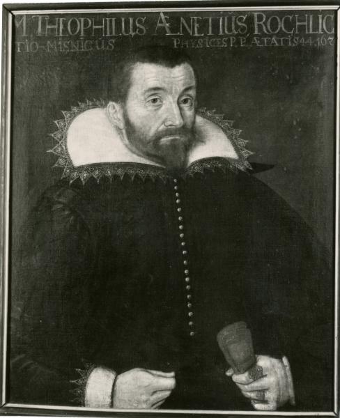 Porträt Gottl. Aenetius