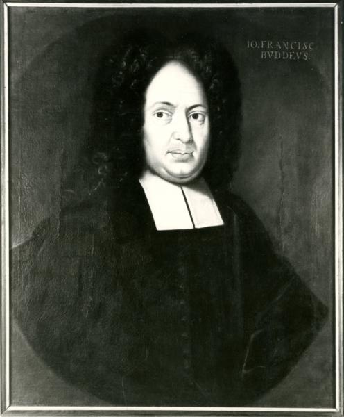 Porträt J. F. Buddeus