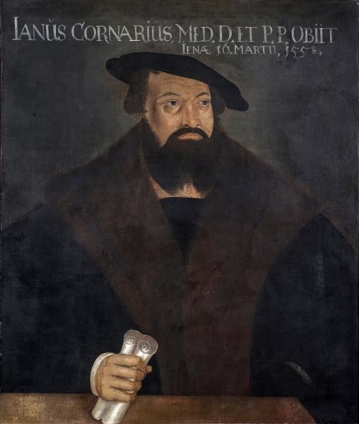 Porträt Janus Cornarius