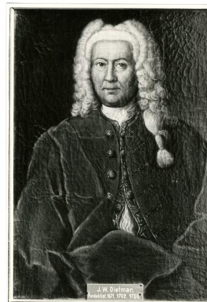 Porträt J.W. Dietmar