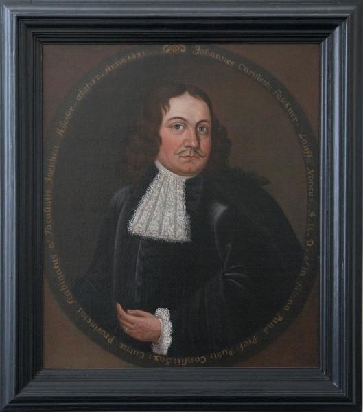 Porträt J. Chr. Falckner
