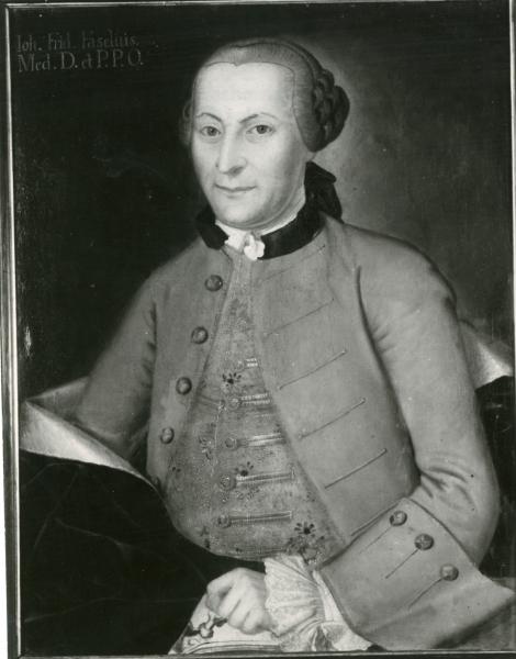 Porträt J.F. Faselius