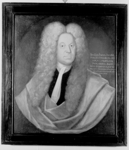 Porträt Johannes Jakob Fick