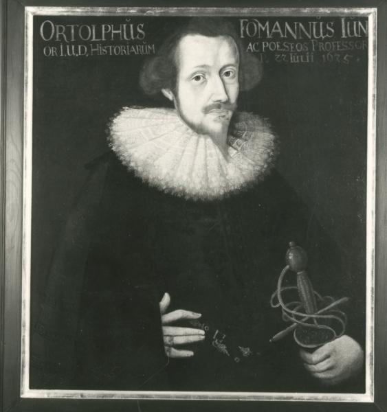 Porträt Ortolph Fomann