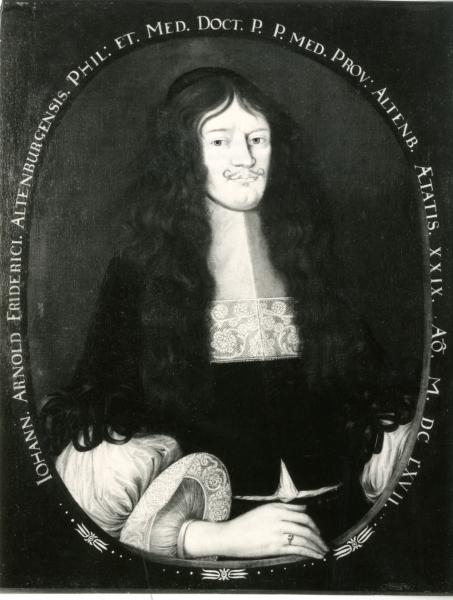 Porträt J.A. Friderici